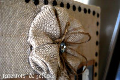 Fabric Flower #3 Multiple Burlap Tutorial