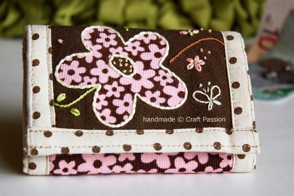 TriFold Flower Wallet Tutorial