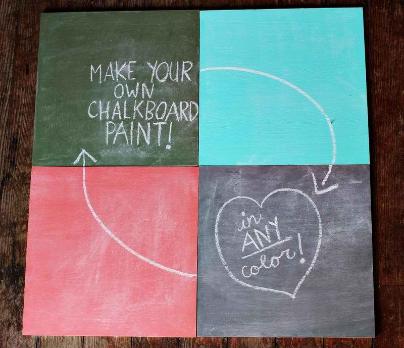 DIY Chalkboard Paint Tutorial