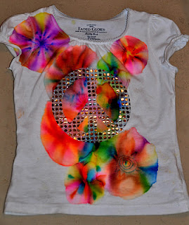 Adorable Tie Dye With Sharpie Tutorial
