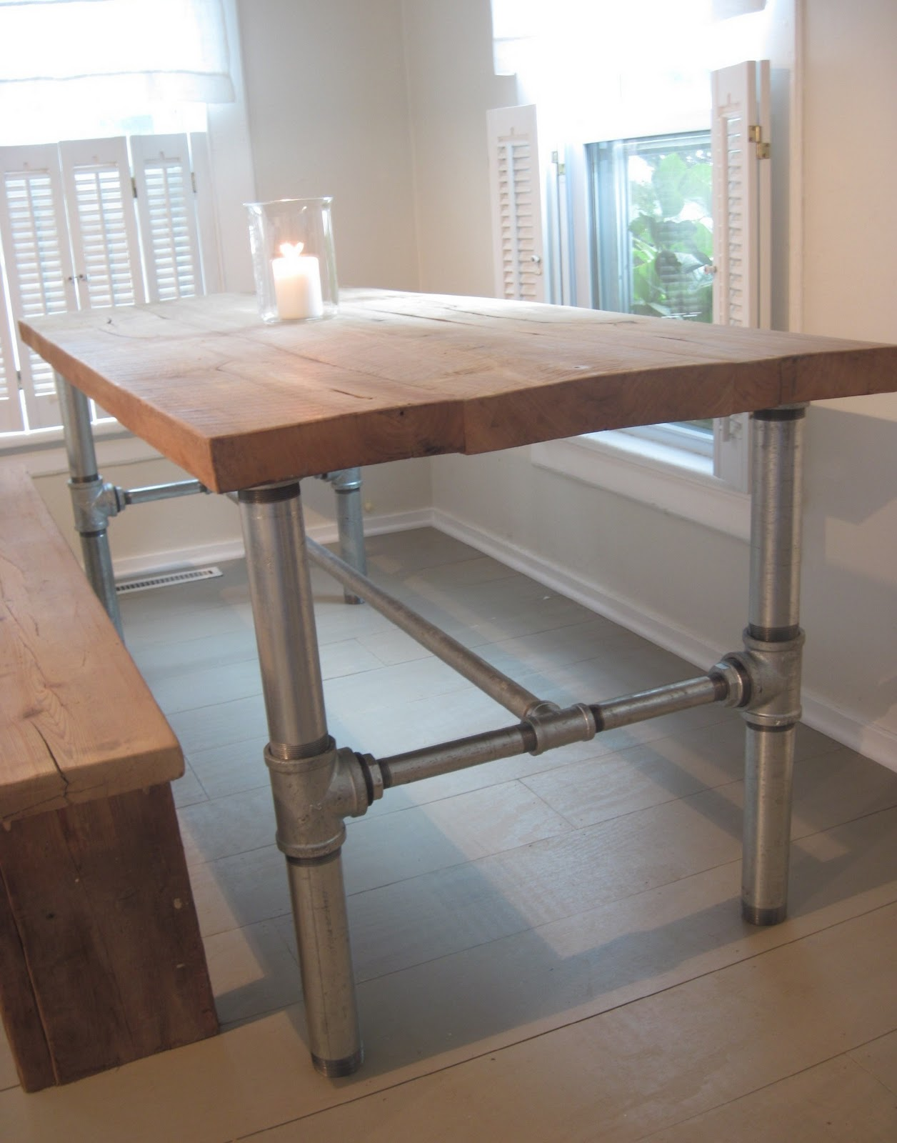 Industrial Dining Table Tutorial