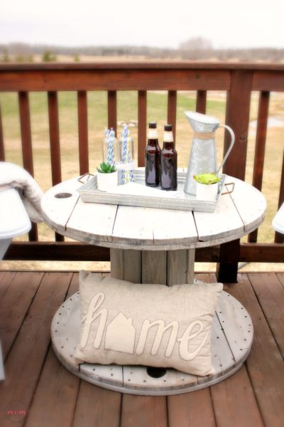 Cable Spool Table Tutorial