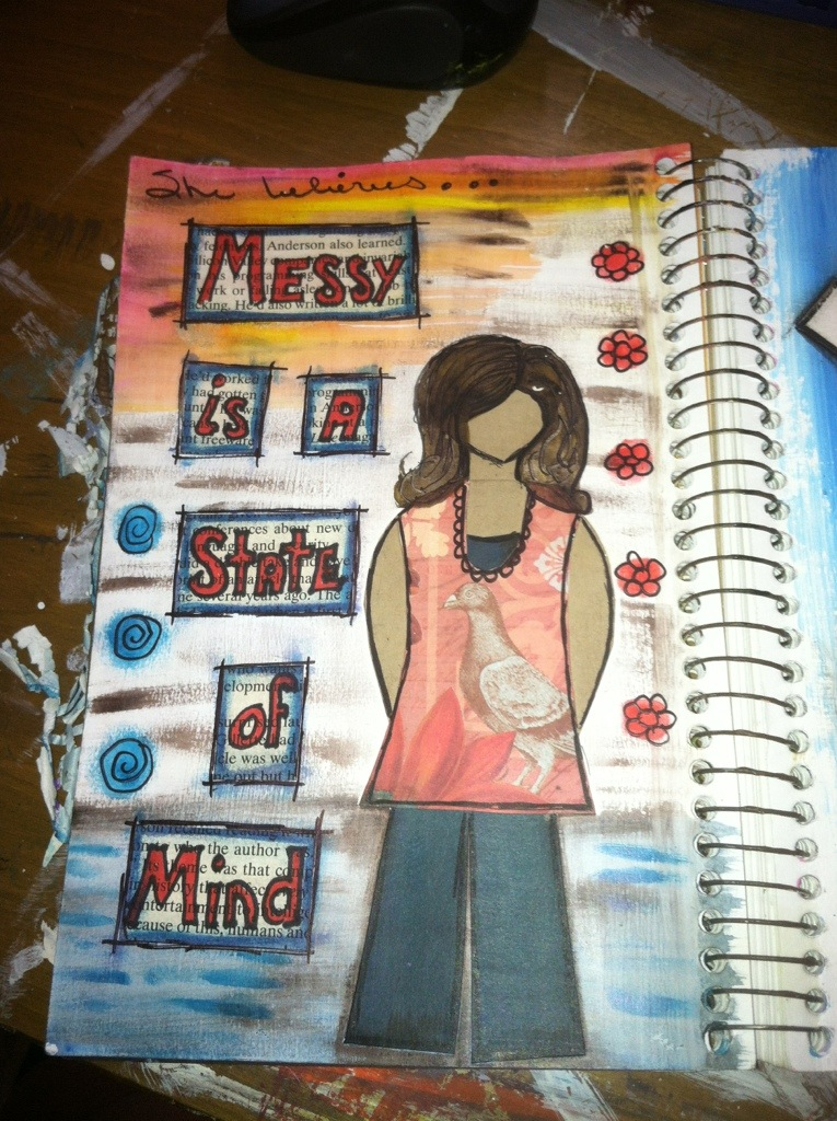 She Believes : Art Journal Page