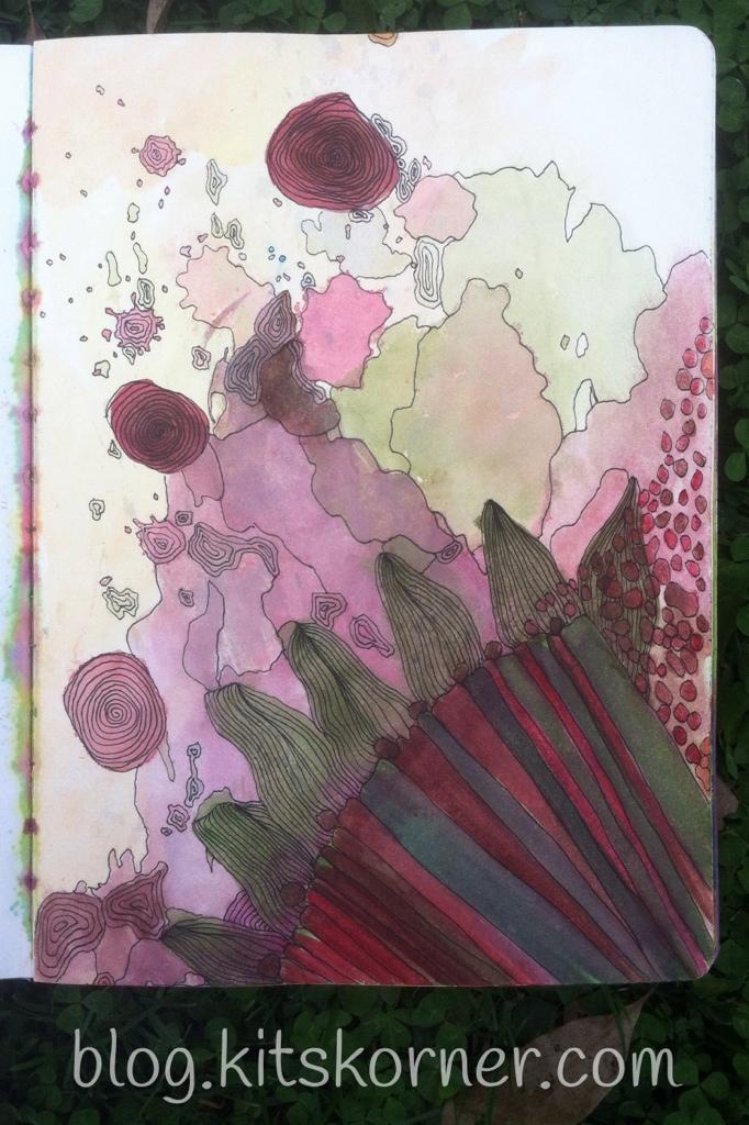 Journal : Watercolor Doodle