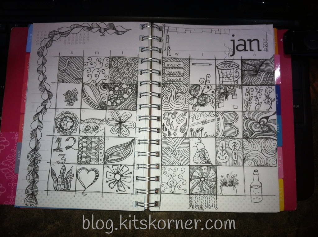 Doodle Daily : January 2014
