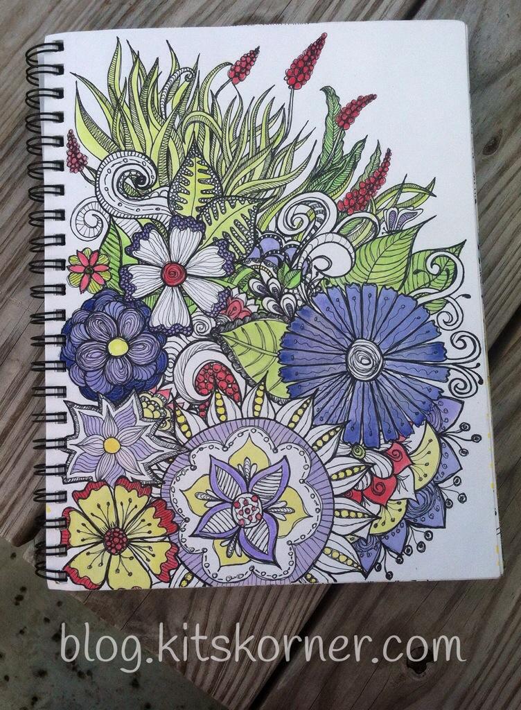 Sketchbook : Flower Power