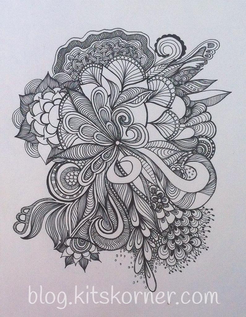 Sketchbook : Random Doodles (4 Pages)