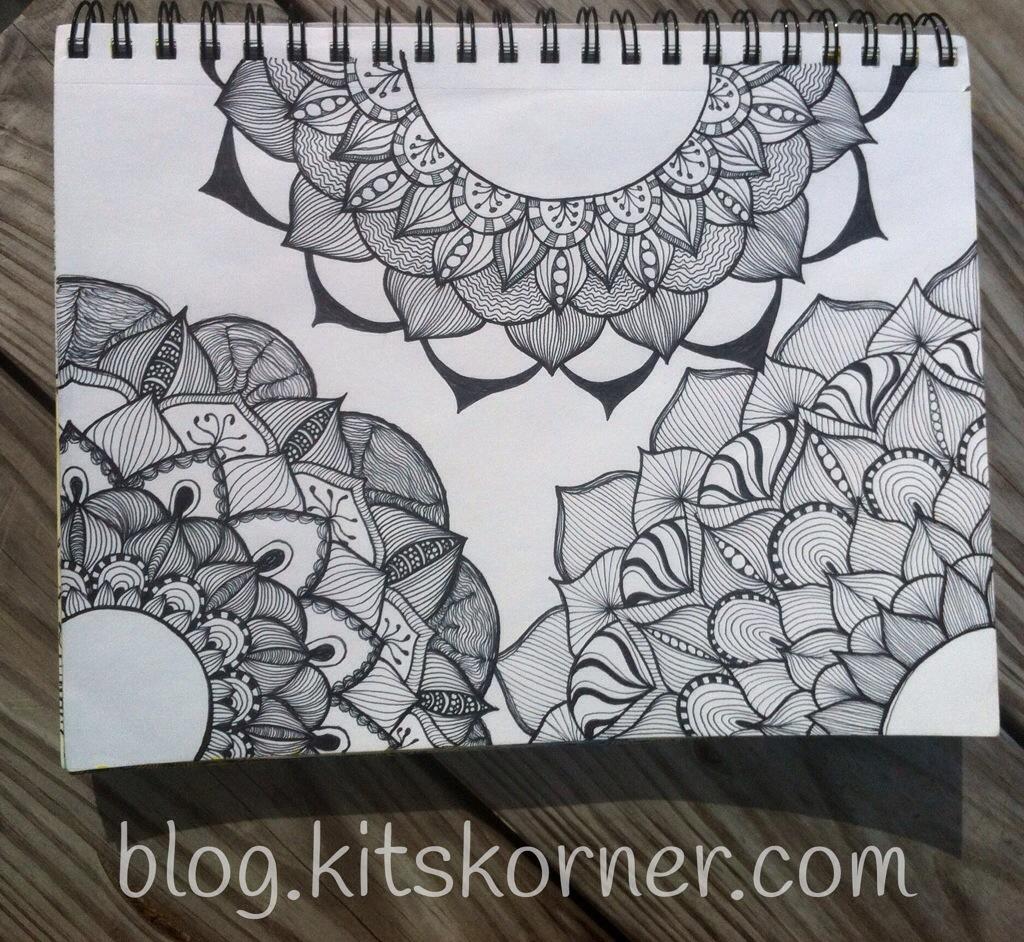 Sketchbook : Big Flowers