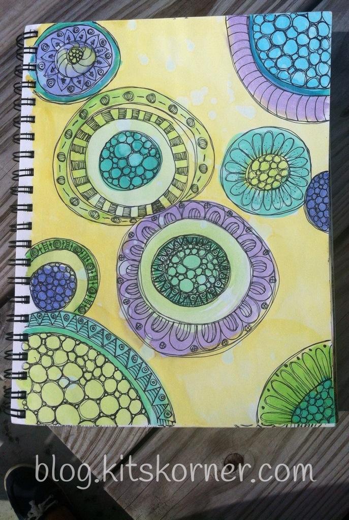 Sketchbook : Watercolor Doodle