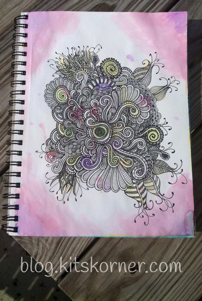 Sketchbook : Tangled Doodle