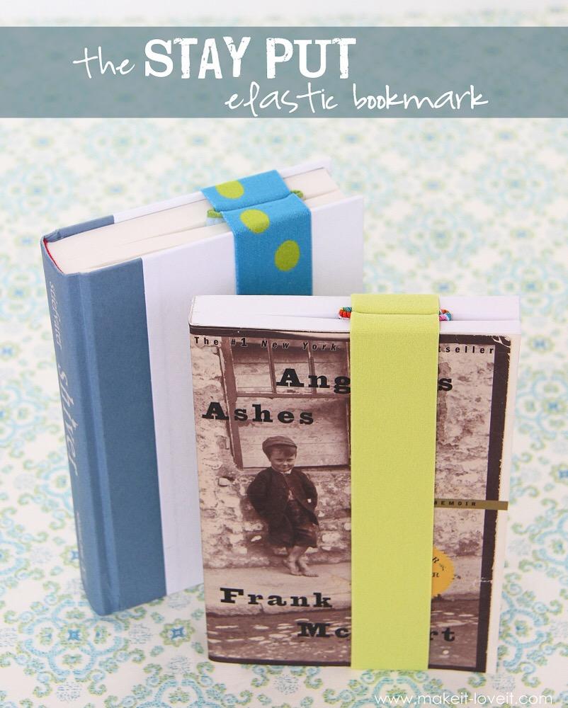 Stay Put Bookmark Tutorial