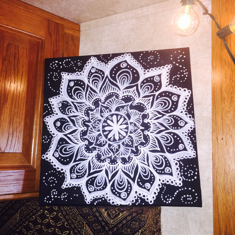 Faux Chalk Drawing