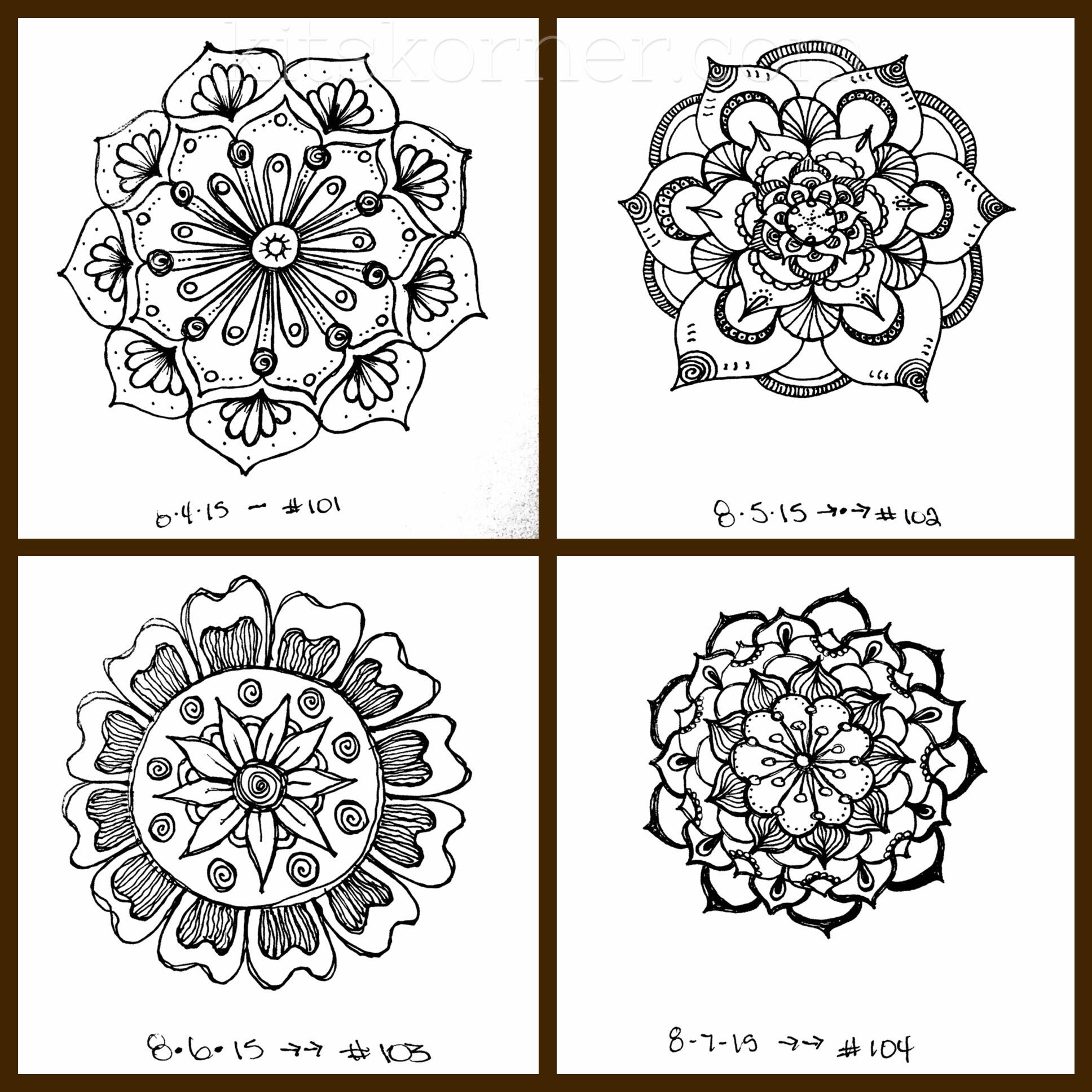 Sketchbook : Beyond 100 Mandalas