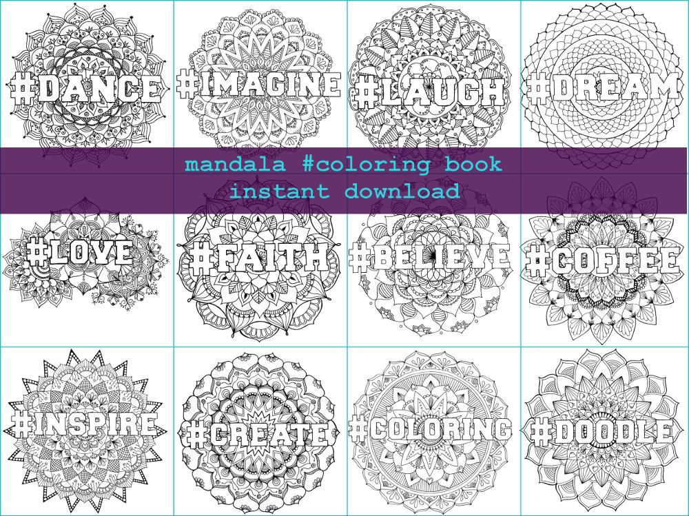 New Product : Mandala #Coloring Book