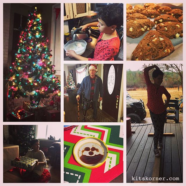 It's been a perfect Christmas Eve…..