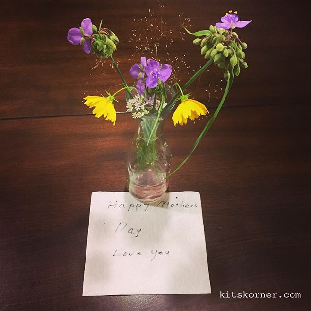 Proof he gets me… Best Mothers Day gift ever! …