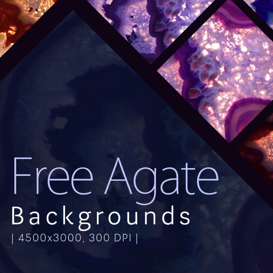 Friday Freebie : 8 Agate Backgrounds